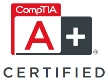 CompTIA A+ certified NEW logo