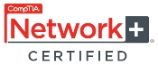 ComTIA Network + Certified NEW logo