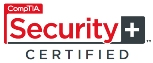 ComTIA Security + certified NEW logo